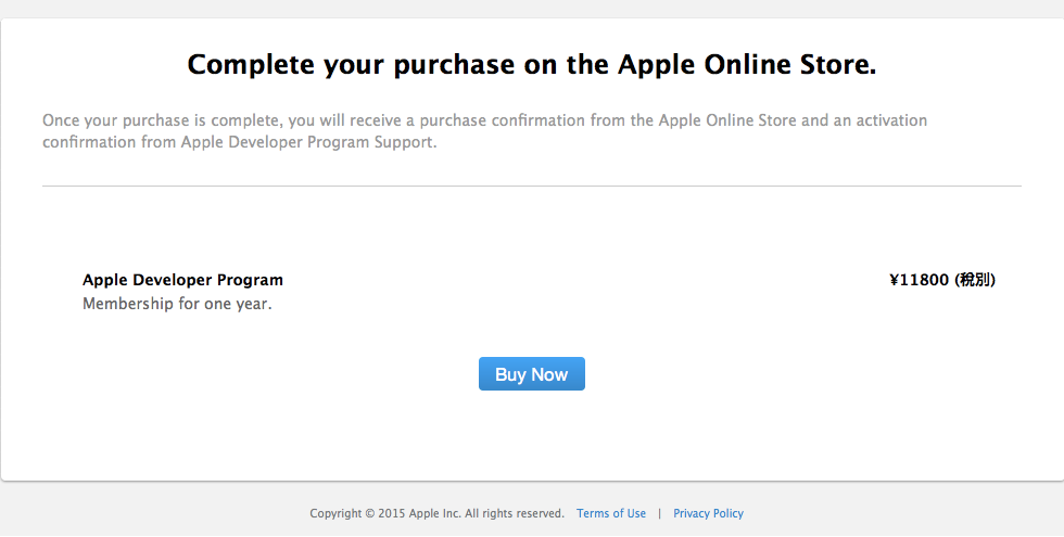 Complete your purchase on the Apple Online Store.