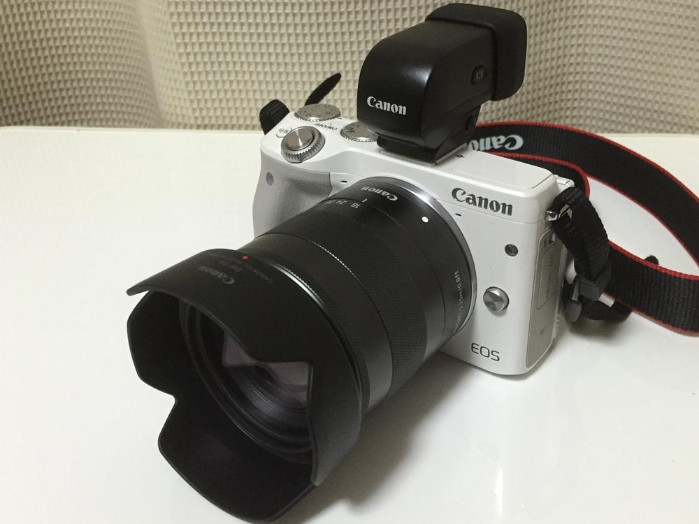 Canon EOS M3 ミラーレスデジタル一眼カメラを買いました。