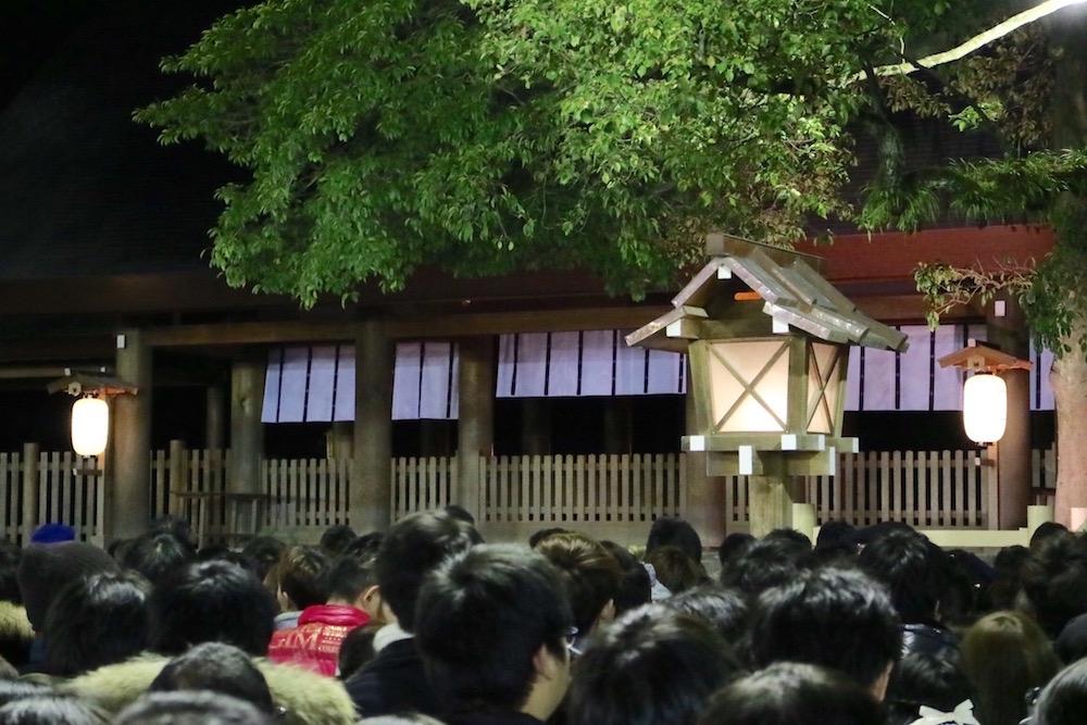 熱田神宮へ初詣に行ってきました 2016