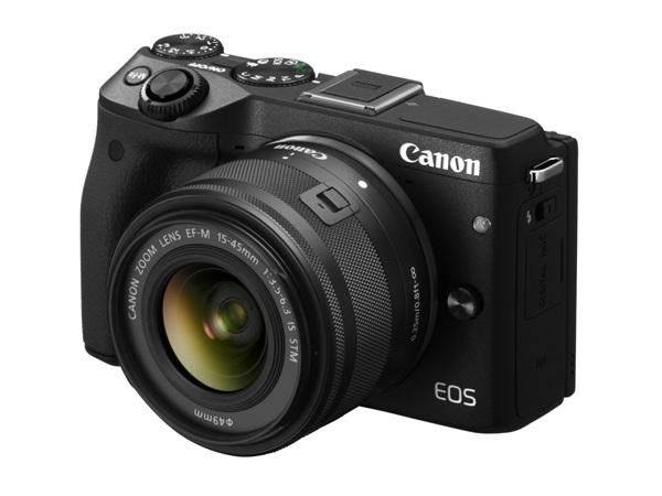 Canon、EOS M3にEF-M15-45 IS STMを付けた新レンズキットを発売