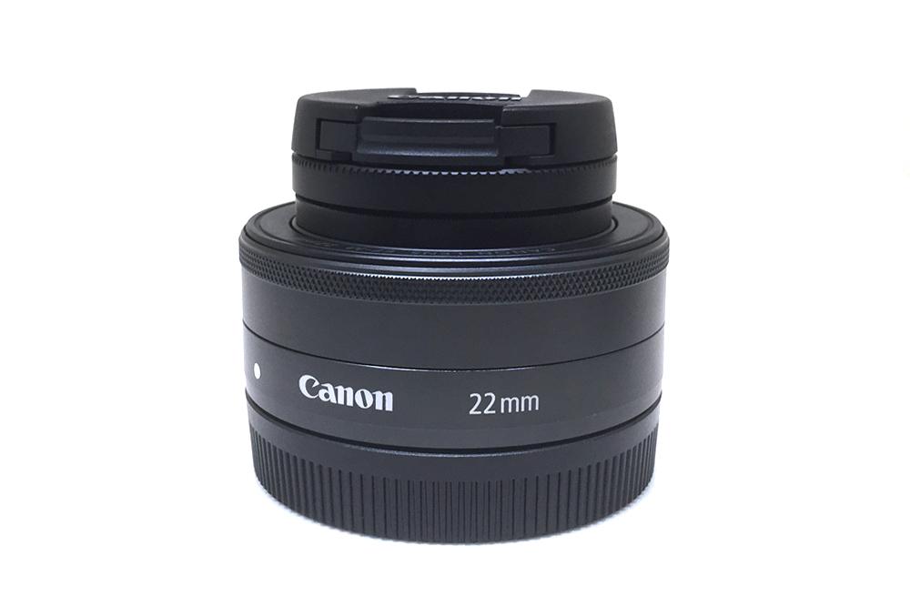 Canon EF-M22mm F2 STM EOS Mマウント用単焦点レンズを買いました。
