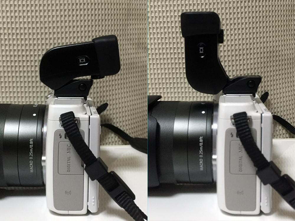 二眼カメラ的なファインダーの覗き方