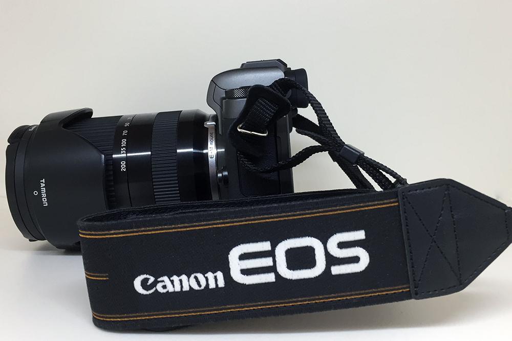 Canon EOS M5 で汎用カメラストラップを使用できるようにしたお話。
