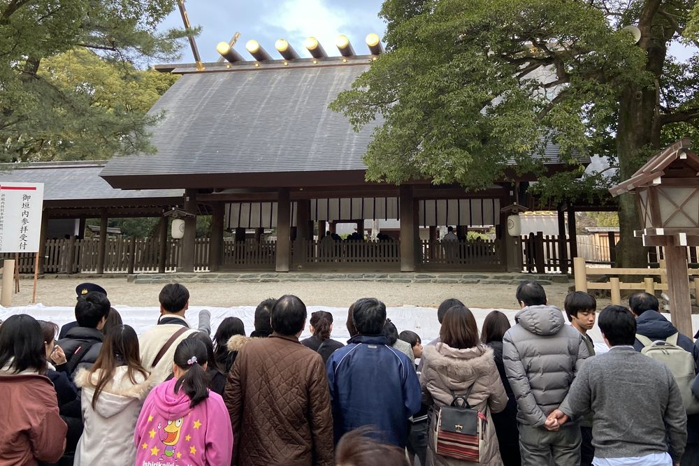 熱田神宮へ初詣に行ってきました2020